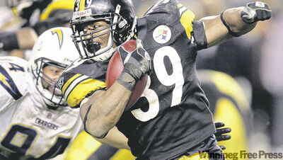 If the Steelers' Willie Parker has a big day, Pittsburgh will be going to the Super Bowl .