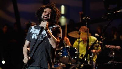 Adam Duritz of the band Counting Crows.