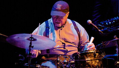 Jimmy Cobb is the only remaining musician from the band that recorded Kind of Blue with Davis in 1959.