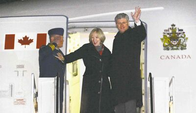 Prime Minister Stephen Harper and wife Laureen depart Ottawa for Israel on Saturday. The  West Bank and Jordan are also on the PM�s itinerary.