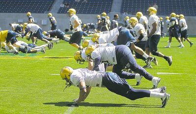 The Bombers paid for their sins with a series of pushups and an ear-curdling admonishment from the boss.