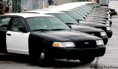 Over 80 per cent of North American police vehicles are Crown Victorias made at Ford's assembly plant in St. Thomas, Ont.