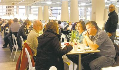 IKEA's Ottawa store was filled to the brim -- including its restaurant -- when it opened Dec. 7, 2011.