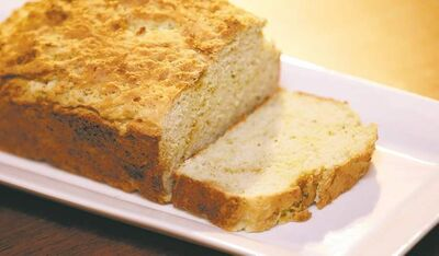 Quick celery bread