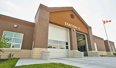 New fire paramedic station No. 12 on Taylor Avenue.