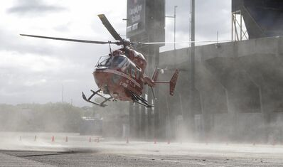 The STARS helicopter was grounded in early December.