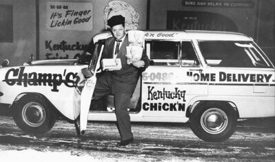 Grubert brought the Kentucky Fried Chicken franchise to the city.