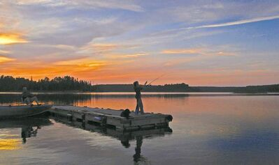 Days are long this time of year at Oak Lake, Ontario. (Dennis Anderson/Minneapolis Star Tribune/MCT)