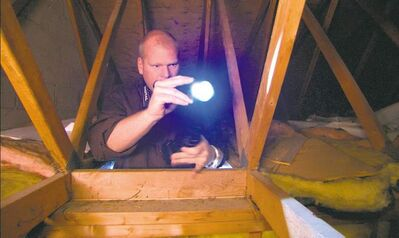 Mike Holmes says to always check the attic, even if a voice inside your head is saying 'Don't go in there!""