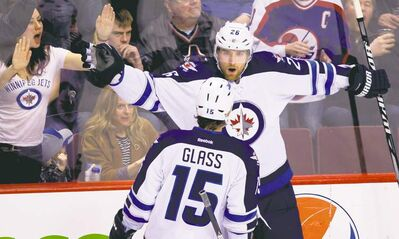 darryl dyck / the canadian press archivesThe Jets won�t have Tanner Glass in the lineup, but Blake Wheeler is rarin� to go. Season-ticket holders should hear from the team shortly.