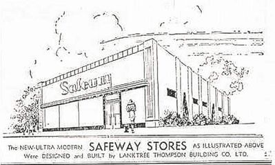 1929-1930 era Safeway on Lilac Street