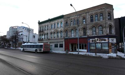 The city effectively stripped the owners of these Main Street buildings of their property rights when it designated them heritage properties.