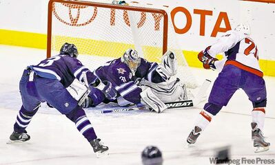 trevor hagan / the canadian pressOndrej Pavelec stoned the high-flying Capitals offence every time it counted.