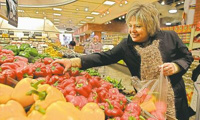 Breaks on fruit and vegetable prices in 2012 are expected to disappear this year.