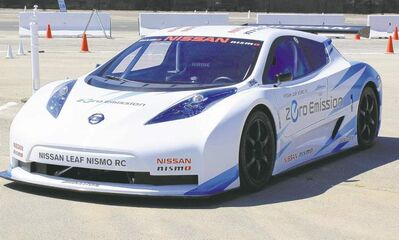 Journalists at the Nissan 360 event in Newport Beach, Calif., were given the chance to drive the all-electric Nissan Leaf Nismo RC and experience a hot lap with a professional driver behind the wheel.