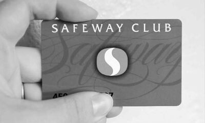 SUBMITTED PHOTOA Safeway official says customers have complained about the raft of loyalty cards clogging their wallets.