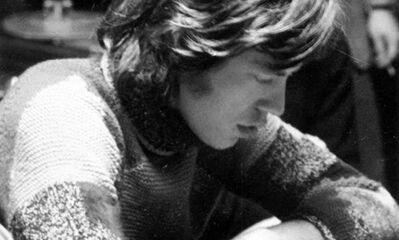 Mick Jagger at Muscle Shoals Sound Studios, where the Rolling Stones recorded Wild Horses and Brown Sugar in 1969.