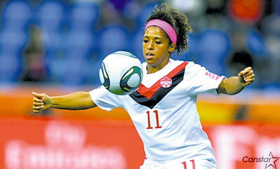 Desiree Scott has made 31 full international appearances for Team Canada to date.