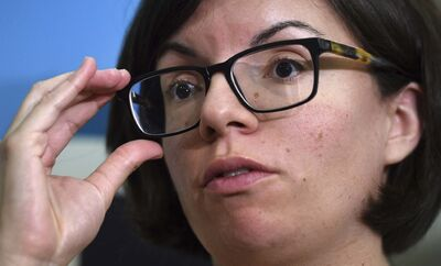 SEAN KILPATRICK / THE CANADIAN PRESS FILES</p><p>NDP leadership candidate Niki Ashton came in third place.</p>