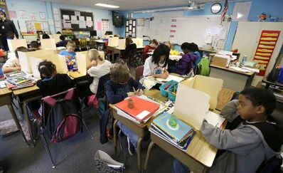 It might be time to rethink the conventional do's and don'ts of proper studying habits. (Ted S. Warren / The Associated Press)