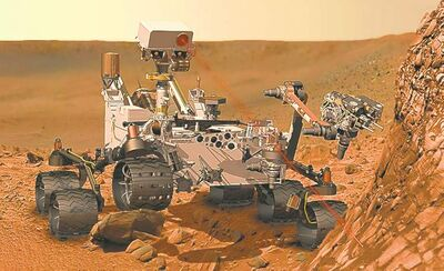 NASA / the associated pressOil companies are increasingly turning to automated technology similar to that found on NASA�s Mars rover Curiosity.