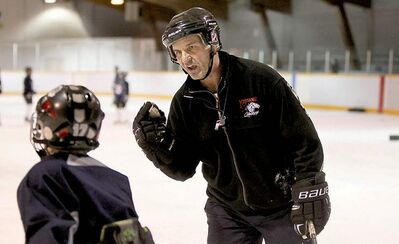All the best players play spring hockey, says Lancaster. But he concedes the economic strain on some families pushes the limit.