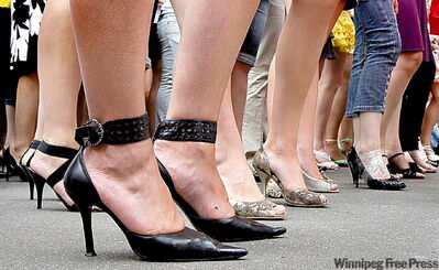 Women love high heels, but they can be the cause of myriad foot problems.