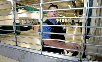 Brian Buchan, head of security at Assiniboia Downs, says security guards should have training in hand-to-hand combat.