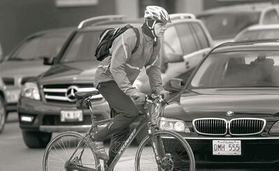 Many cyclists say the roads are a hostile environment because of rude and aggressive drivers.