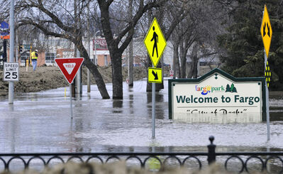 Fargo had flooding in April 2011.