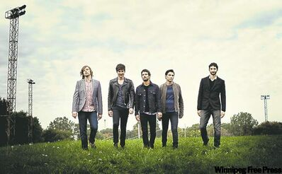 Sam Roberts Band went to the Windy City to record its latest album.