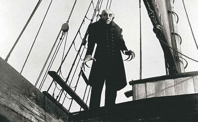 Max Schreck makes an indelible impression as Count Orlok.