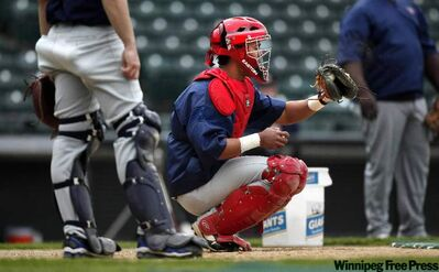 Luis Alen is possibly the strongest catcher in the Fish camp.