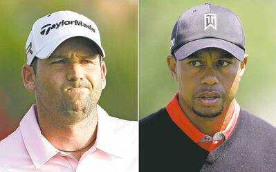THE ASSOCIATED PRESS ARCHIVESThere�s no love lost between Sergio Garcia and Tiger Woods but the feud reached a boiling point this week when Garcia couldn�t stop talking.