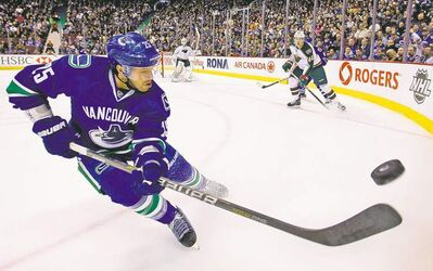 If union decertification is approved, individual players like Vancouver Canucks' Andrew Ebbett, could sue the NHL for lost wages.