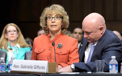 Former Arizona Rep. Gabrielle Giffords