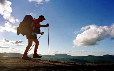 Start preparing for next year's big hike now.