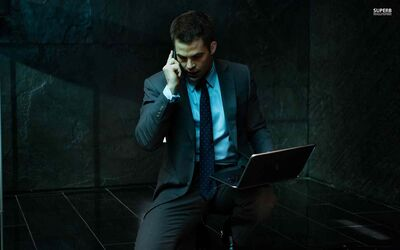 Chris Pine as Jack Ryan in Shadow Recruit.