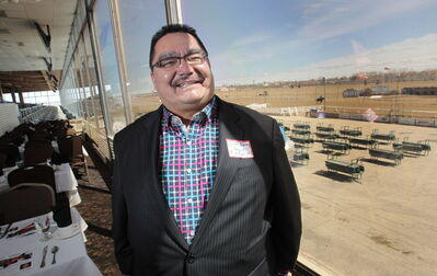 Peguis First Nation Chief Glenn Hudson's reserve has partnered with Assiniboia Downs to build a convention centre and hotel adjacent to the racetrack. He says the plans are on track.