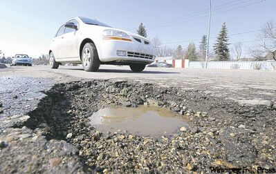 "Concerns over Winnipeg's shabby sidewalks and bumpy roads have ""fallen on deaf ears,"" said Mayor Sam Katz."