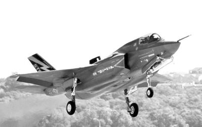 A Lockheed Martin F-35 Joint Strike Fighter. Bristol and its parent company are committed to investing $120 million in tooling up to build parts for it.