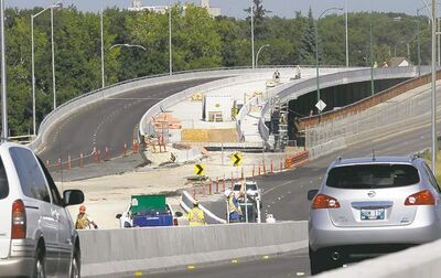 The new $195-million link between Elmwood and downtown is shaping up. All four lanes of the new Disraeli Freeway are slated to open Oct. 19.