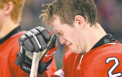 Nathan Denette / the canadian pressIt�s the end of the world as Boone Jenner knows it after Canada�s overtime loss to Russia in the bronze-medal game in Ufa on Saturday.