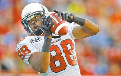 Akeem Foster is excited for the chance to play despite leaving the Grey Cup contender Lions for the struggling Bombers.