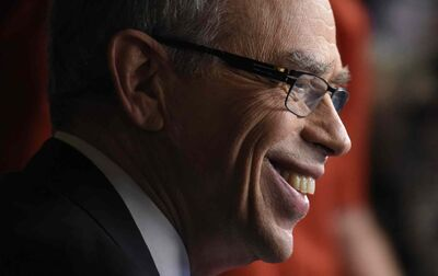 """""""In Israel (cannabis) is not legal for recreational use and yet they're a leader in research on medical cannabis,"""" notes Joe Oliver (Justing Tang / The Canadian Press files)"""