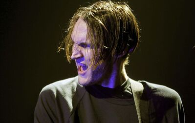 Red Hot Chili Peppers guitar player Josh Klinghoffer (Phil Hossack / Winnipeg Free Press)</p>