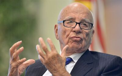 News Corporation CEO Rupert Murdoch, in New York on Aug. 14, 2012.THE CANADIAN PRESS/AP, Josh Reynolds