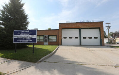 The fire hall on Grosvenor Avenue is up for sale.