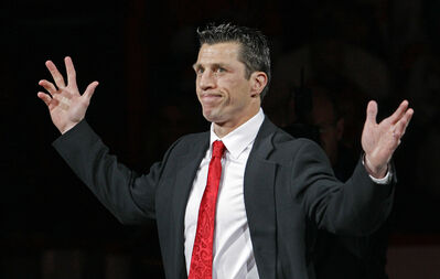 "Carolina Hurricanes head coach Rod Brind'Amour spent $80,000 on ""a volleyball / basketball / hockey facility — with a baseball batting cage and small putting green — in the backyard of his home 10 years ago."