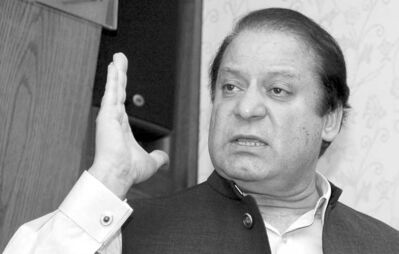 Pakistan's prime minister-elect Nawaz Sharif opened his 'estate' to reporters and in doing so, opened eyes.